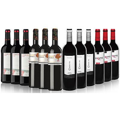 Pack Vino Tinto Denominación de Origen Rioja, Ribera del Duero, Toro y Cigales