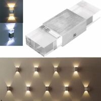 6W High Power LED Warm White Up Down Wall Lamp Spot Light Sconce Lighting