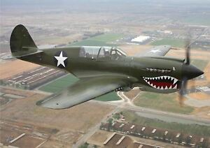 P-40 WARHAWK WW2 A3 POSTER PICTURE PRINT A951