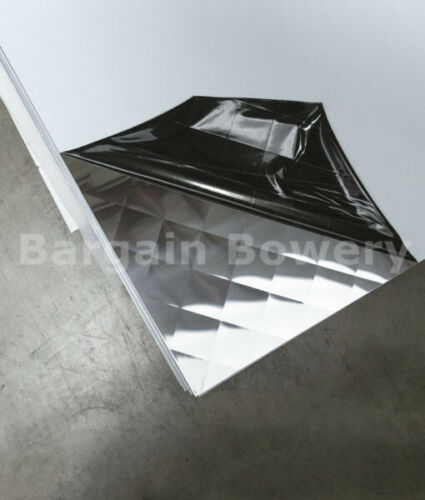 """Food Truck /& Restaurant Wall Covering Stainless Steel 26 Ga 4/' X 8/' 4/"""" Quilt"""