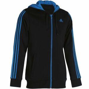 schwarz blaue adidas jacke
