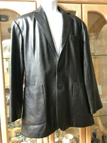 Mens Deerskin Leather Sportcoat