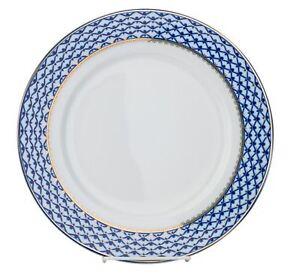 Set-of-6-Russian-Cobalt-Blue-Net-Dessert-Plates-7-5-034-St-Petersburg-Bone-China