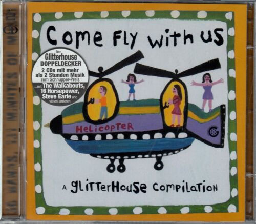1 von 1 - COME FLY WITH US - A GLITTERHOUSE COMPILATION / 2 CD-SET - NEU