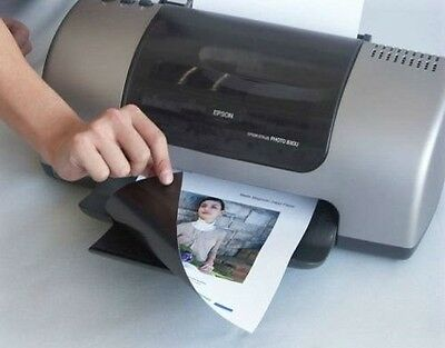 A4 Sheets Of Matt Or Gloss Printable Inkjet Magnetic Sheets Graphic Photos Paper