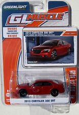 GREENLIGHT GL MUSCLE SERIES 7 2013 CHRYSLER 300 SRT Deep cherry Red Crystal