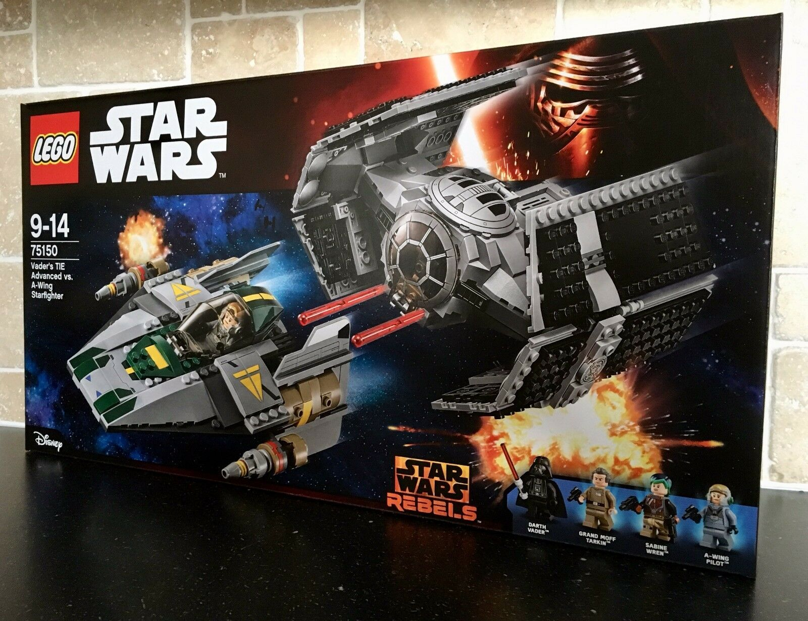 LEGO STAR WARS - 75150 Vader's TIE Advanced Vs. A-Wing Brand New In Sealed Box