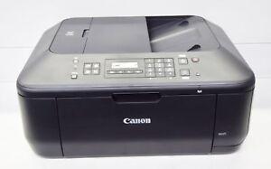 Canon-PIXMA-MX475-Multifunktionsdrucker-Tinte-Scanner-Kopierer-Fax-mit-WLAN-USB