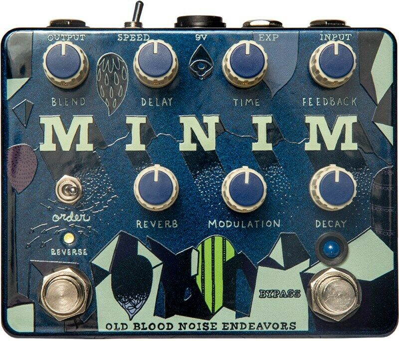Old Blood Noise Minim Ambient Machine Pedal