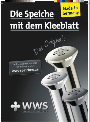 "BAFANG G311 28/"" 36x WWS Edelstahl VA Speiche 241mm 13G 2,34mm PEDELEC E-Bike"