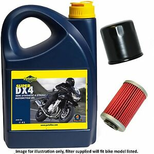 Details about Suzuki GSXR 1000 L7 2017 Putoline DX 4 10w40 Oil and Filter  Kit