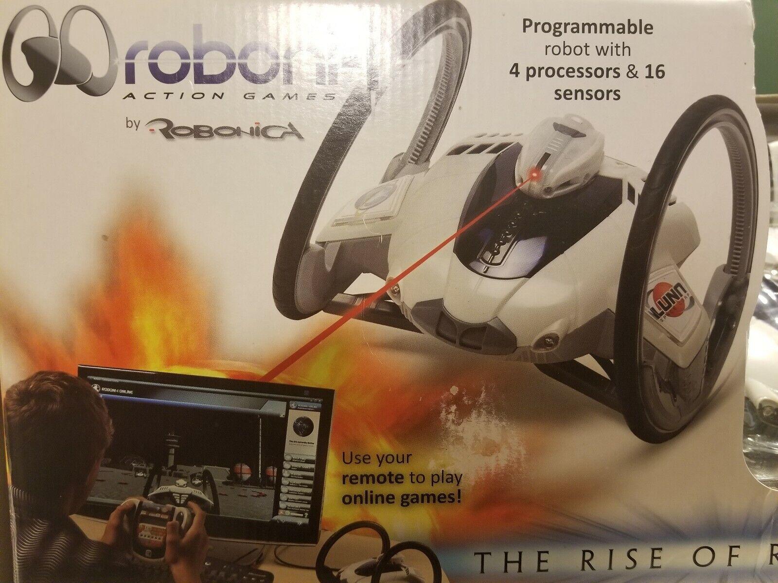 Robonica Robotics Roboni-i Programmable PC Interactive Gaming Gaming Gaming Robot 75b711