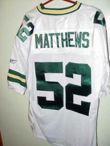 promo code 811e1 3ea26 Details about Authentic NFL Green Bay Packers Jersey CLAY MATTHEWS #52 Sack  Master (Awesome)