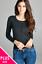 Women-Long-Sleeve-Crew-Neck-Plus-size-Cardigan-Sweater-Knit-Top-1X-2X-3X thumbnail 7