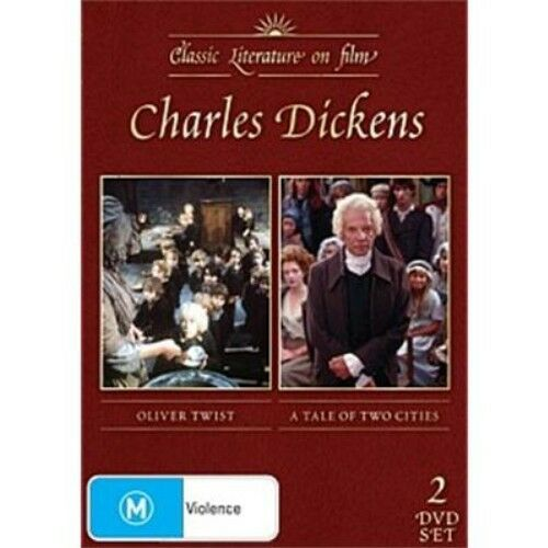 CHARLES DICKENS Oliver Twist / A Tale Of Two Cities 2 DVD SET NEW