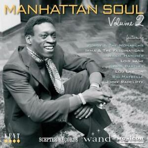 MANHATTAN-SOUL-VOLUME-2-Various-NEW-amp-SEALED-NORTHERN-SOUL-CD-KENT-WAND-SCEPTER