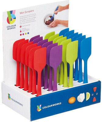 Kitchen Craft Colour Works Flexible de Silicona 28cm Tazón Raspador Espátula