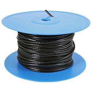 CAT-6-solide-crayon-Externe-Cable-noir-100m-bobine-100-CUIVRE-MISE-EN-RESEAU