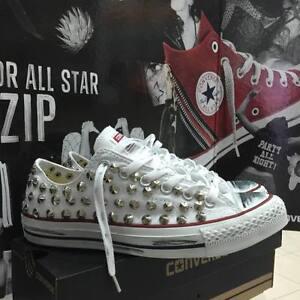 scarpe converse bianche basse