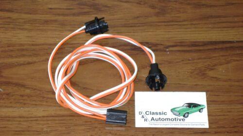 Underdash Courtesy Lamp Wiring Harness Made in USA 69 Camaro