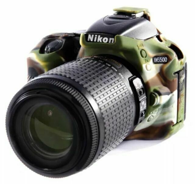 CAOMING Soft Silicone Protective Case for Nikon D5500 Color : Color1 D5600 Durable