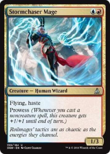 Stormchaser Mage Magic the Gathering MTG Oath of the Gatewatch SP/NM