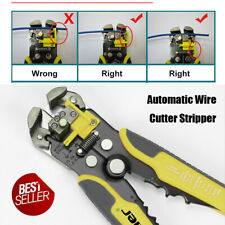 Wire Cutter Stripper Plier Automatic Electrical Cable Crimper Terminal Tool