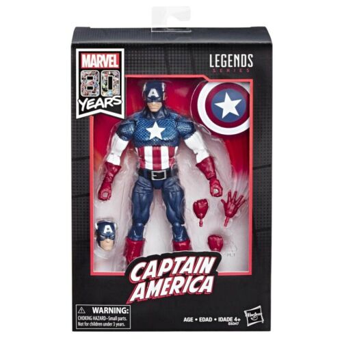 Marvel Legends Captain America 80 Years Anniversary Action Figure In Stock