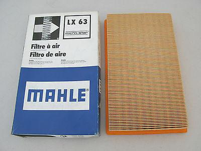 NEW MAHLE AIR FILTER. PORSCHE (944,924) 1983-1989 (#944 110 186 02 / LX63)