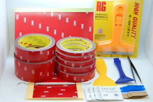 3M-4229P-DOUBLE-SIDED-FOAM-TAPE-SET-WITH-TOOLS-AUTOMOTIVE-TAPE-3-METER