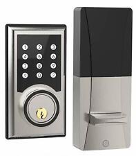 TURBOLOCK TL201 Electronic Keypad Deadbolt Keyless Entry Door Lock Code Disguise