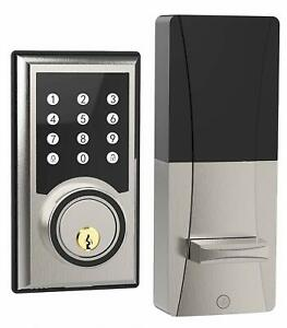 Turbolock TL201 Keyless Door Lock Electronic Keypad Deadbolt w/ Code Disguise