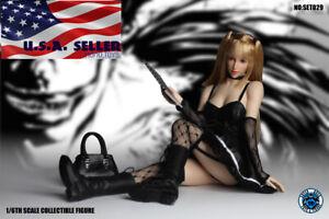 1/6 Grim Reaper Note de la mort Misa Amane Set de figures sans couture Set029 S10d