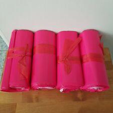 6x10 Poly Mailer Bags 100 Pcs Rose Hot Pink Shipping Supplies Envelope Mailing