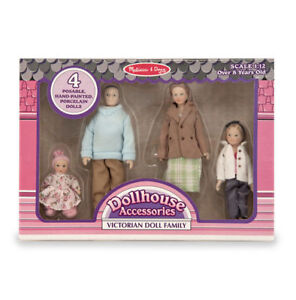 Victorian-DOLLHOUSE-FAMILY-2587-4-Dolls-FREE-USA-SHIP-Melissa-amp-and-Doug