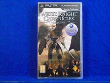 psp WHITE KNIGHT CHRONICLES ORIGINS Multiplayer RPG Game PAL UK REGION FREE