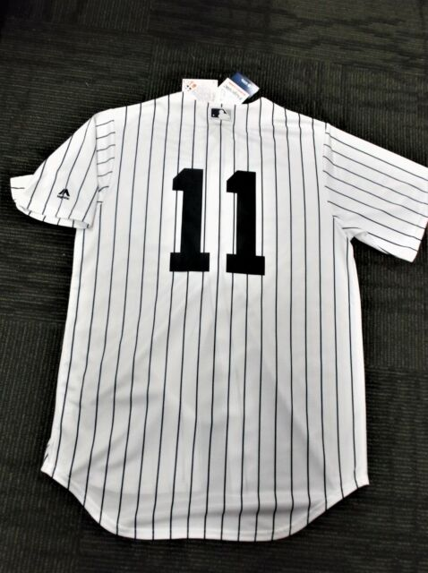 detailed look ca350 b65bf Brett Gardner # 11/NY Yankees Majestic Cool Base Home Jersey 4 FREE VINTAGE  CDS