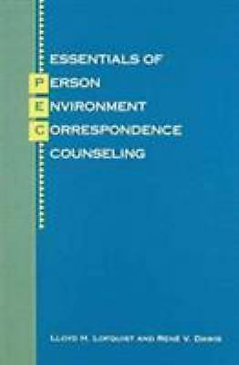 Essentials of Person-Environment-Correspondence Counseling