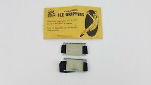 Vintage Pair Chadwick Ice Grippers Orig Pkg Shoe Grips U3