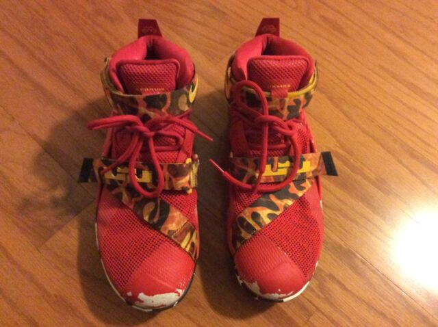 timeless design a1568 fff6b 23 Lebron Soldier 9 Custom Nike ID Lebron James Shoes Room Wall Decor  Hanging for sale online   eBay
