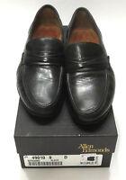 Allen Edmonds Bergamo 9 D Black Leather Dress Loafer Mens Slip On Shoe 42070 Box