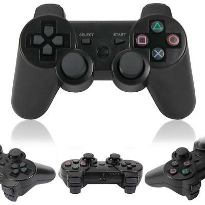 Hot Wireless Bluetooth 8M Game Controller for Sony PS3 PS 3 Black Free Shipping