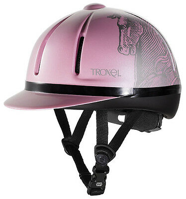 Troxel Legacy Slim Profile Horse tack riding english helmet Safety Pink Medium