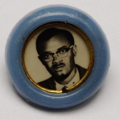 Badge Nr2 Lumumba Russia Cold War Propaganda Ussr Katanga Congo Anti Colonialism
