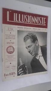 EL ILUSIONISTA Revista Dibujada N º 188 20è Annee 3E Cuarto 1954 ABE
