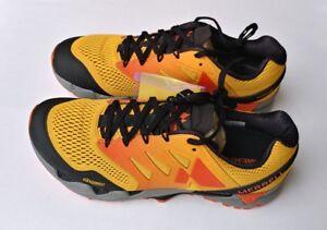 9 mesh zwarte maat schoenen Flex E Agility Mens Peak oranje 2 kruidige Merrell goud SzpqMUV