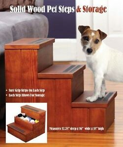 ... Stairs > See more Etna Steps Pet Solid Wood Dog Cat 4638 Non Sli
