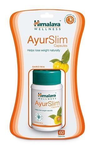 6 x Himalaya Herbal AyurSlim Capsules   Ayur Slim   60 Capsule Pack