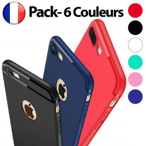 Antichoc-Bumper-Silicone-Housse-Coque-iPhone-XS-Max-2018-XR-X-8-Plus-7-Plus-6-s