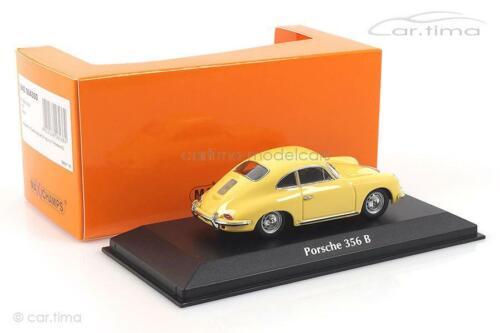 Porsche 356 B Coupé gelb 1961 Minichamps 1:43 940064300